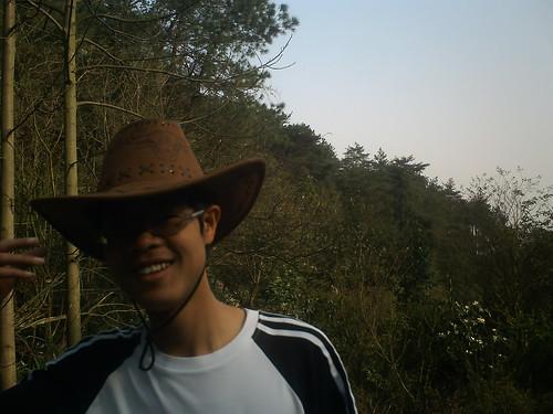 牛仔帽的我