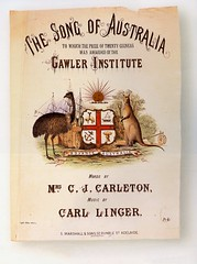"The cover of ""The Song of Australia""."