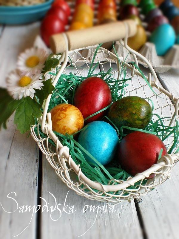 Easter eggs -