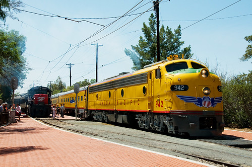california trains unionpacific e8 perris oerm orangeempirerailwaymuseum
