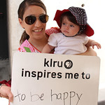 KLRU inspires me to... be happy.