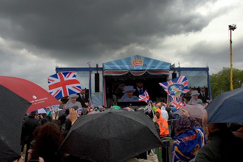 Hyde Park - Diamond Jubilee celebrations