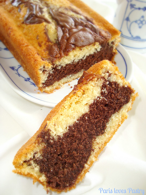 Chocolate & Vanilla Pound Cake