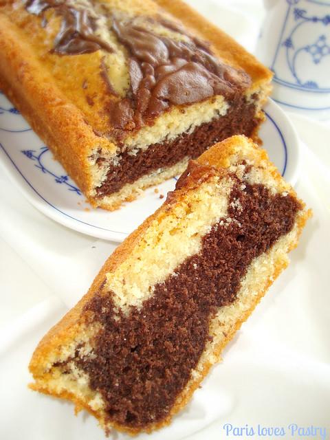 巧克力& Vanilla 磅蛋糕