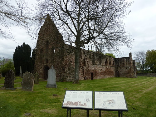 Ruined Church at Beauly Priory