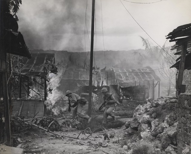 Garapan Fire, Saipan, 3 July 1944 | Flickr - Photo Sharing!