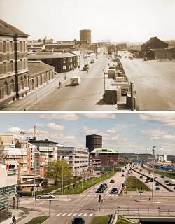 Gothenburg, Gullbergsvass 1950 / 2012