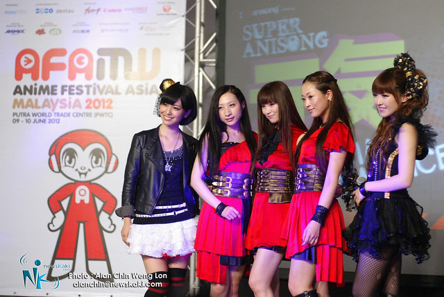 AFA Malaysia 2012 - Japanese Singers line up