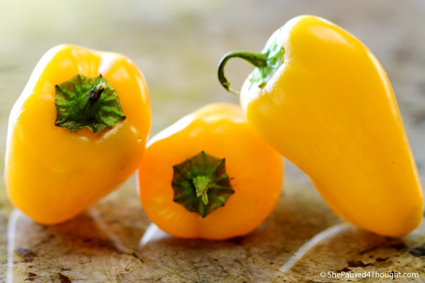 Bell Peppers for Spicy Mango Juice