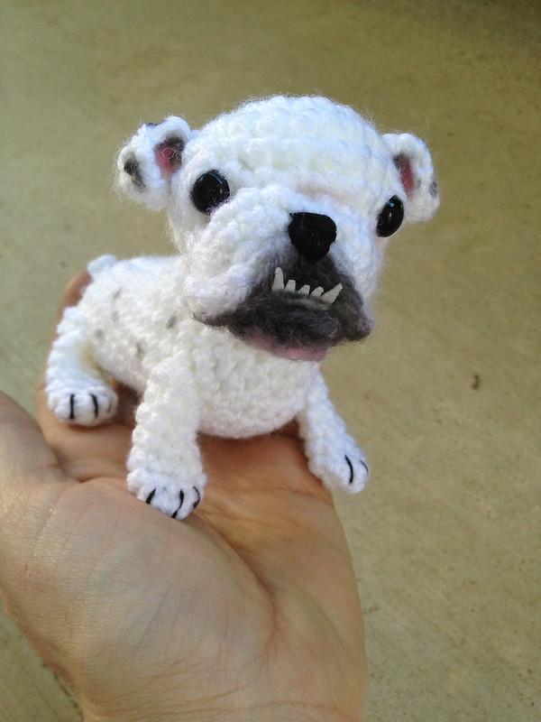 Free Pattern For Crochet Bulldog : live. laugh. love. bulldog. KnitHacker