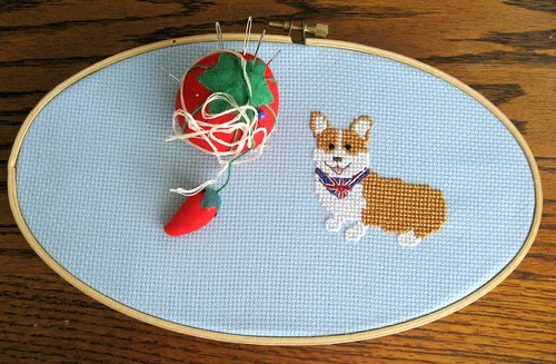 corgi in progress