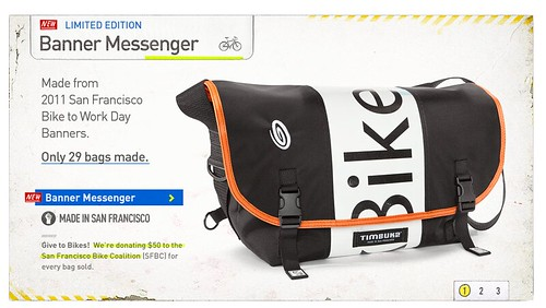 2012 Timbuk2 Bike to Work Banner Messenger