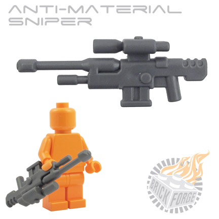 Anti-Material Sniper - Dark Blueish Gray