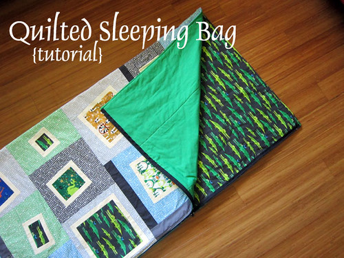 Sleeping Bag Tutorial