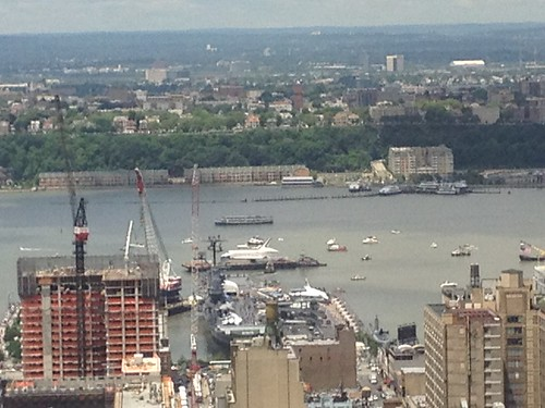 Space Shuttle on the Hudson