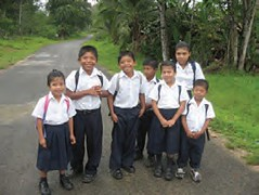 School Children of Panama