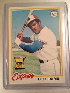 1978 Topps Andre Dawson