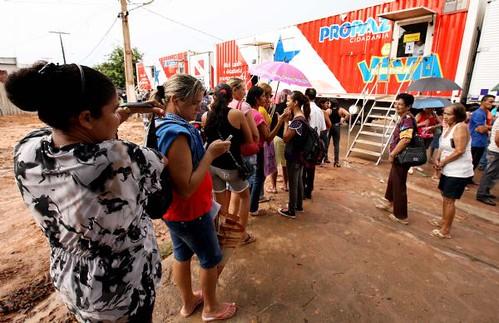 Pro Paz em Mojuí dos Campos. Foto: Eliseu Dias