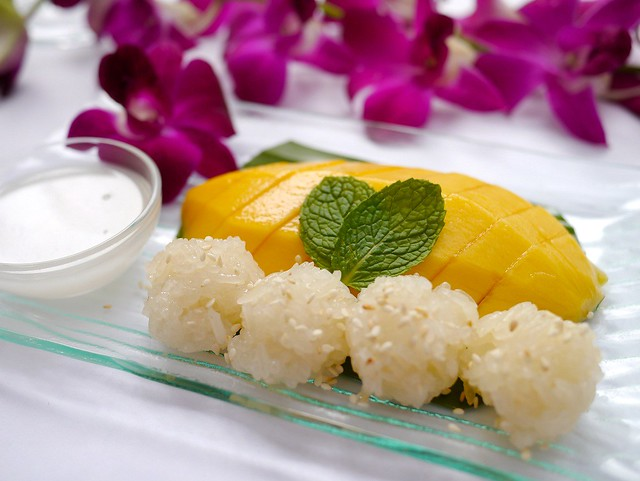 Mango Sicky Rice