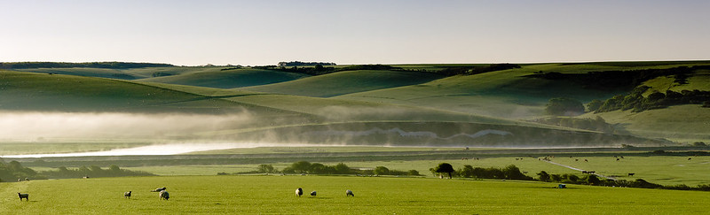 Cuckmere Valley, near Seaford, East Sussex