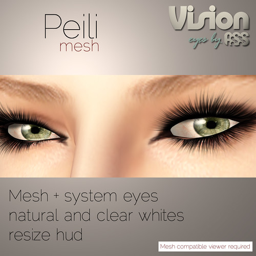 Peili mesh eyes. 80L - Vision by A:S:S