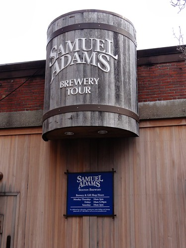 Samuel Adams Brewery Tour