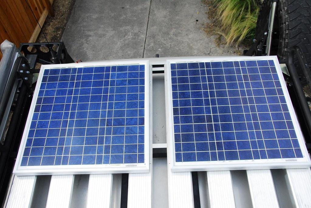 Solar Panels Installed On Landcruiser Unwired Adventures