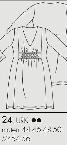 Kleid Knip 3_2012 Jersey techn Zeichnung