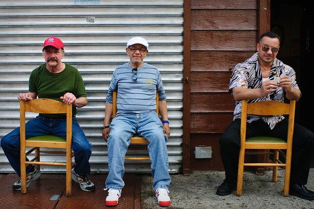 Three Gentlemen, Grand Street, Williamsburg, 16 May 2012.