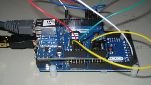Arduino Mega ADK with Ethernet Shield
