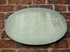 Photo of Francis Chantrey stone plaque