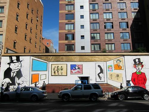 Alec Monopoly on Bowery