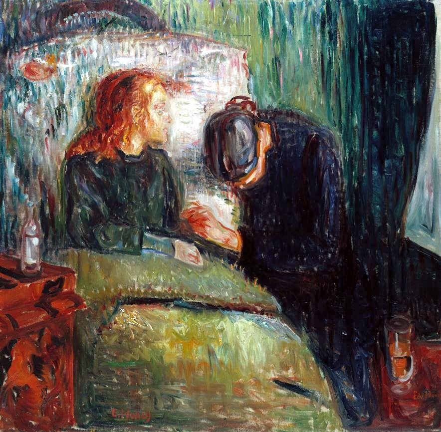 Munch, Edvard (1863-1944) - 1907 The Sick Child (Tate Collection, London, UK)