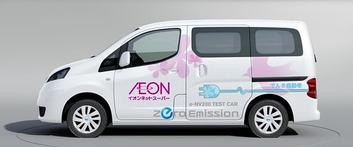 e-NV200 イオンリテール株式会社さま向けモニター車