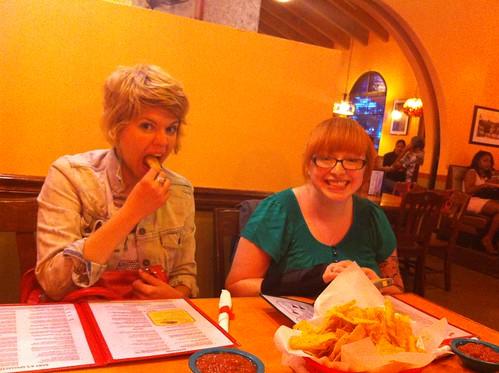 Amanda and Calee
