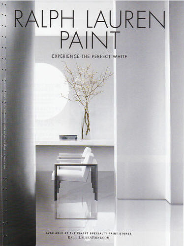 Ralph lauren paint experience the perfect white flickr for Where to find ralph lauren paint