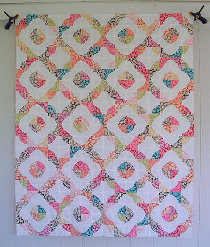 Drunkard's Path Quilt Top by jenniferworthen