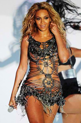 Beyonce Mad Max Warrior Attire