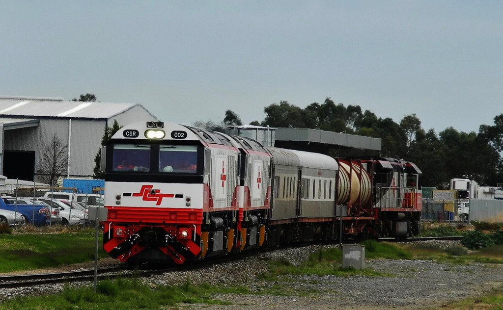 CSR002, CSR003 and SCT15 at Dry Creek South Australia by Rodney S300