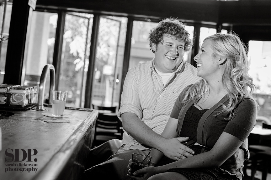 Westport Kansas City engagement photos