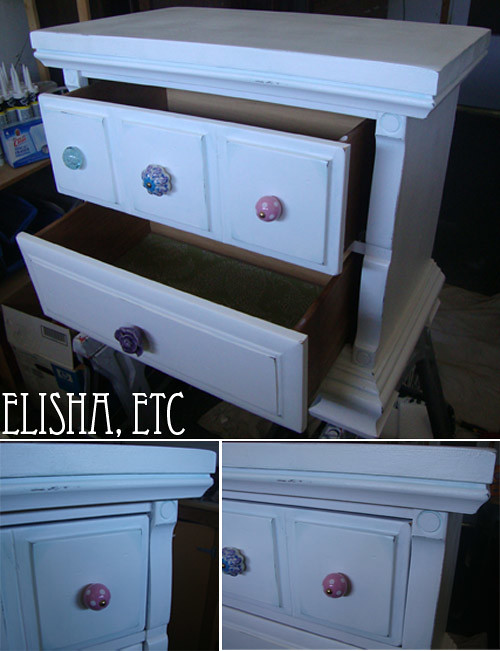 nightstand makeover after 1