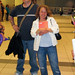 Jeremy (Chris\\\' bro), Sara (my sista) looking cool in Toronto Airport :).