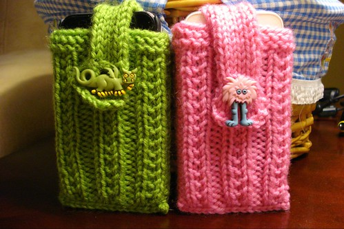 His and Hers iPhone cozy