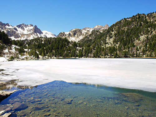 Ratera Lake in the Pyrenees
