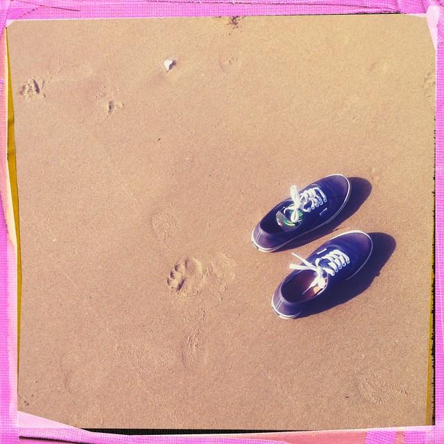 photo vans plage