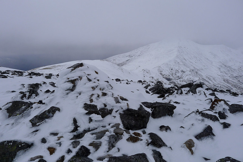 The summit of Carn nan Gobhar