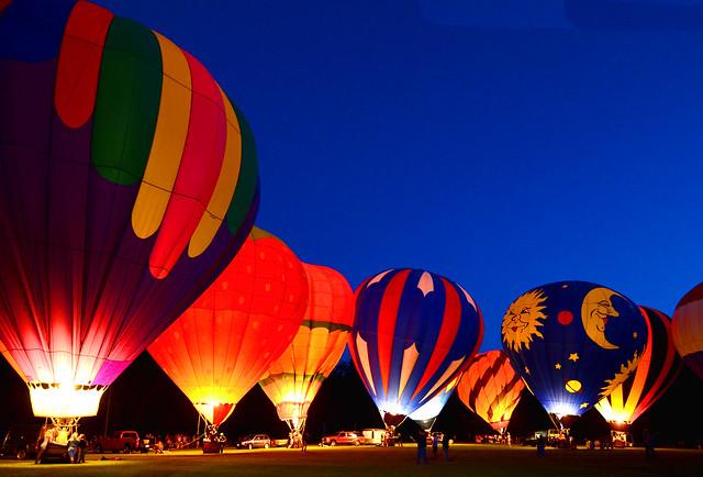 baloon glow