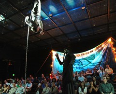 Fri, 2012-05-25 17:23 - Death and Harry Houdini at Arsht (2013) - Set Design by Collette Pollard