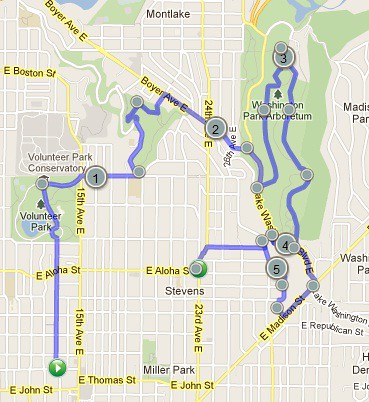 Today's awesome walk, 5:48 miles in 1:56 by christopher575