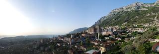 Krujë hillside panorama